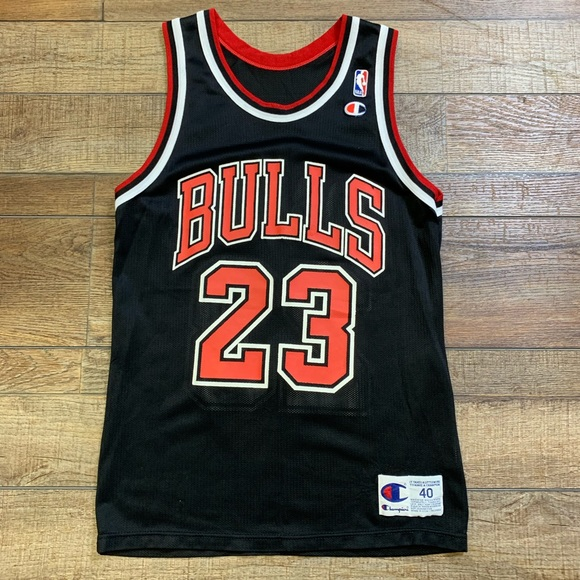 8fad2ce4ad5 Champion Shirts | Michael Jordan Chicago Bulls Nba Jersey Vintage 40 ...